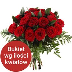 Bukiet 9 róż